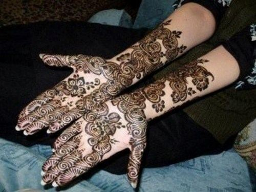 Mehndi Designs For Palm : Simple and latest arabic mehndi designs