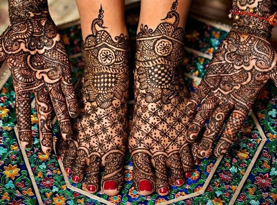 Henna Tattoo For Indian Wedding: 24 Beautiful Mehendi Designs For Your Hands