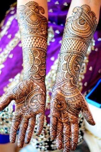 mughal mehendi design