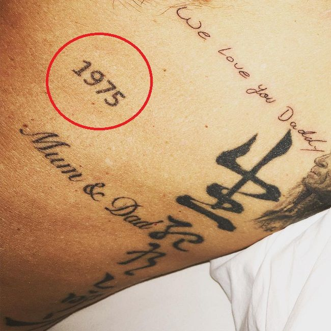 David Beckham-1975 Tattoo