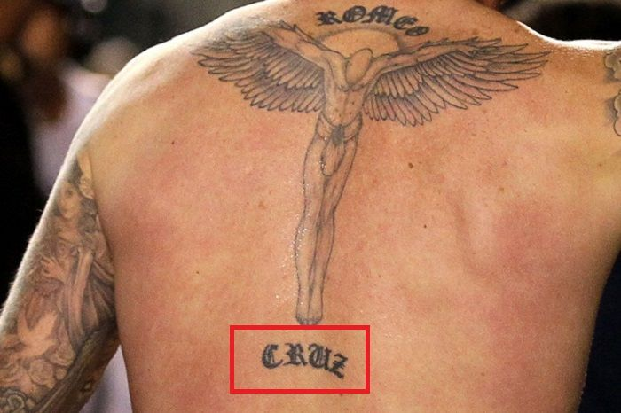 David Beckham-CRUZ Tattoo
