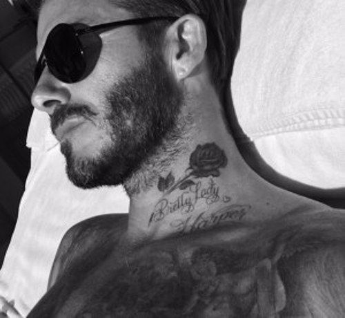 Rose-tattoo-David Beckham