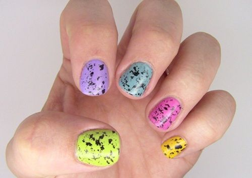 Speckled-Easter-Nails