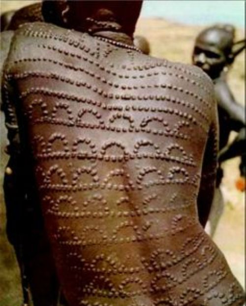 Tribal scarification