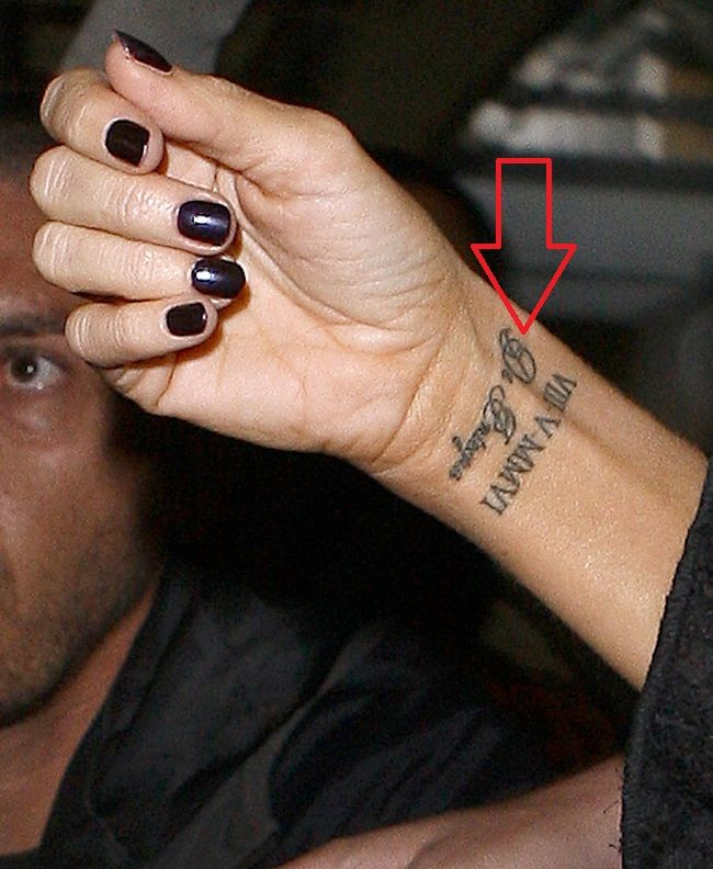 Victoria Beckham-David Beckham-De integro Tattoo