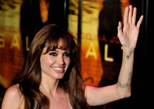 angelina jolie's 'H' tattoo