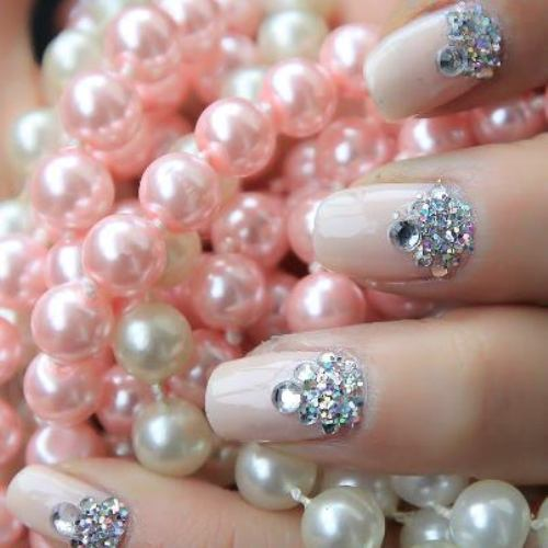 bejeweled nails