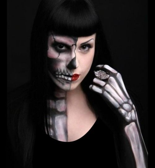 body painting for halloween