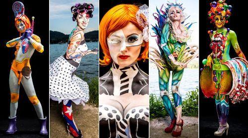 30 Amazing Body Painting Designs Body Art Guru