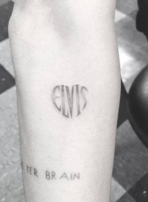 miley cyrus-elvis tattoo