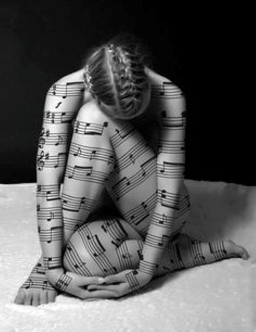 musical body art