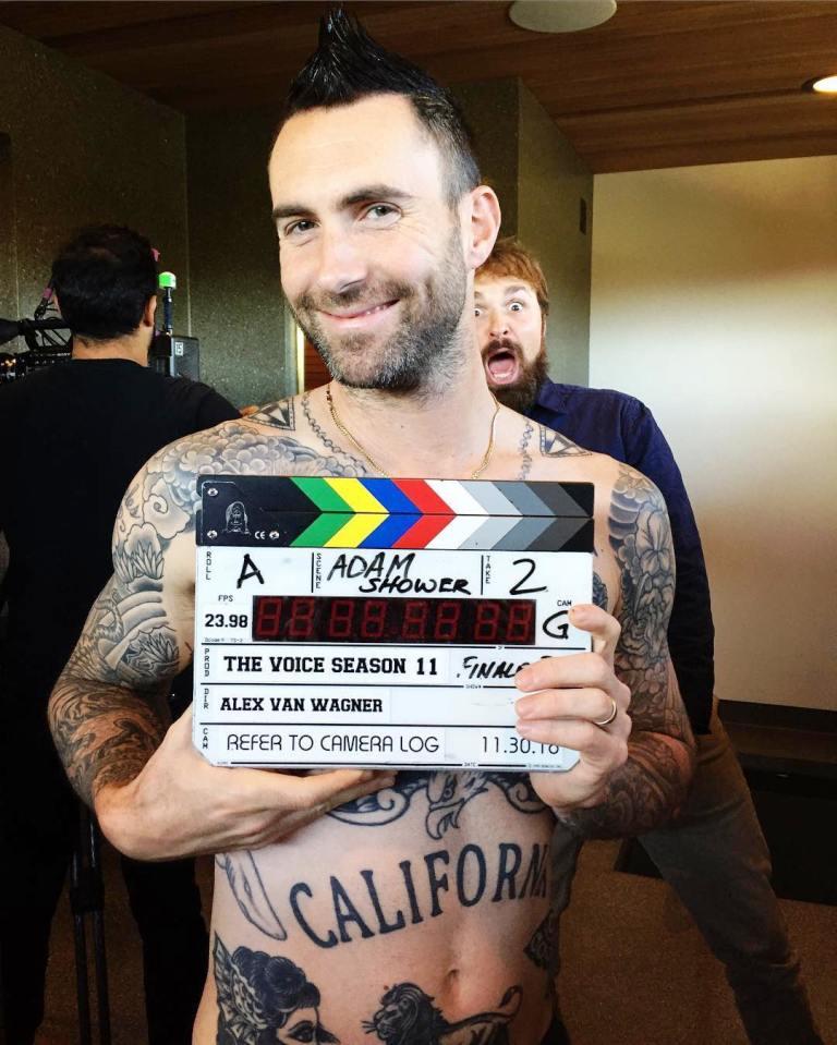 Adam Levine's California Tattoo