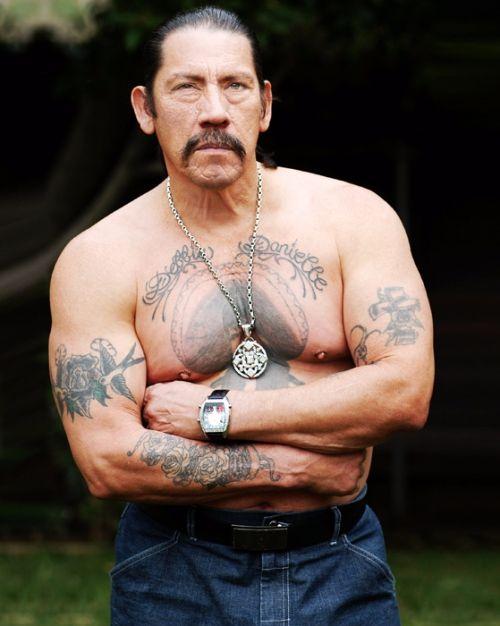 Danny Trejo's 7 Tattoos and their Meanings - BodyArtGuru