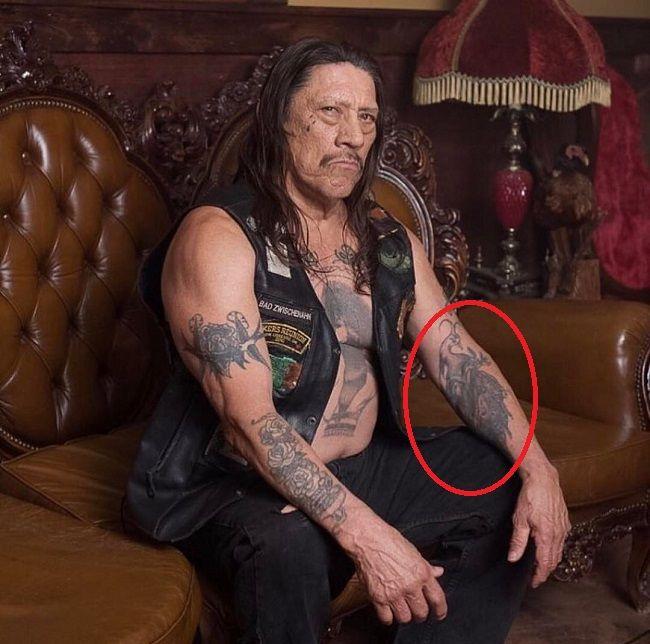 danny treja-peacock tattoo