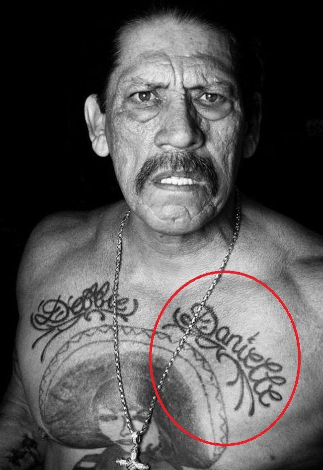danny trejo-danielle tattoo