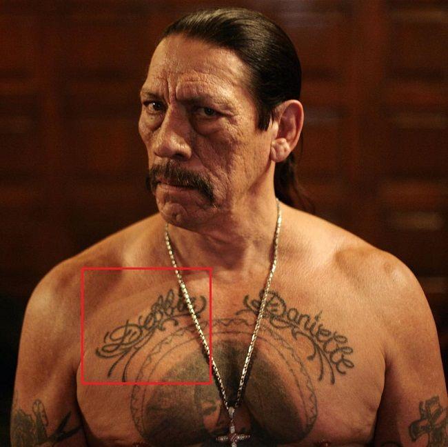 danny trejo-debbie tattoo