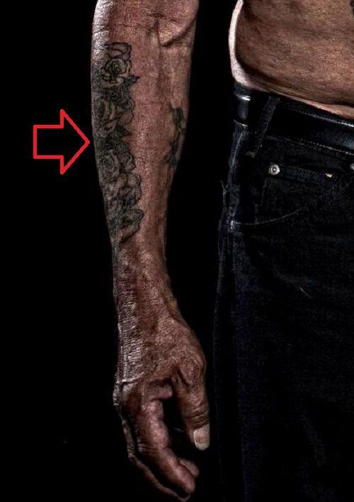 danny trejo-roses tattoo