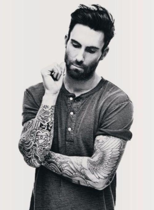 Adam Levine's 17 Tattoos & Their Meanings – Body Art Guru
