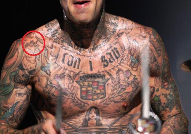 Travis Barker's 25 Tattoos & Their Meanings – Body Art Guru