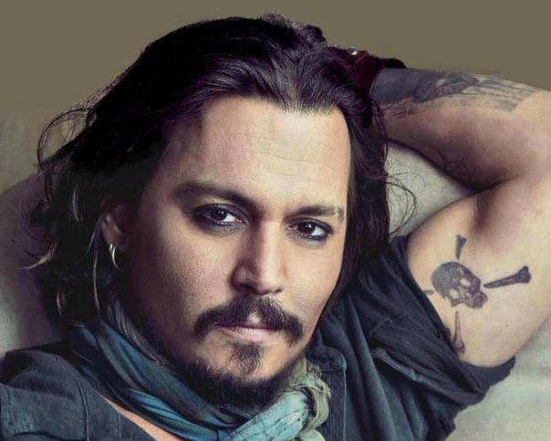 bc98392519cd6 Johnny Depp's 31 Tattoos & Their Meanings – Body Art Guru