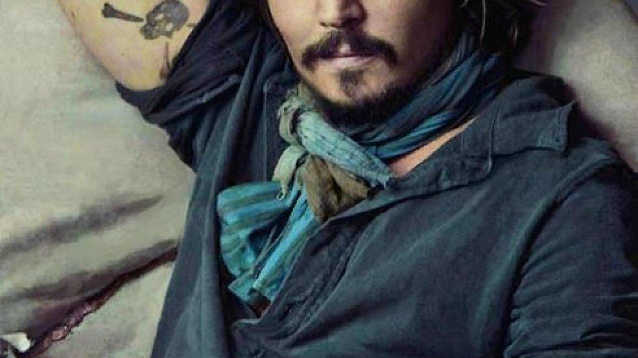 Johnny Depps 31 Tattoos Their Meanings Body Art Guru