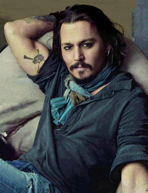 Johnny Depp S 31 Tattoos Their Meanings Body Art Guru