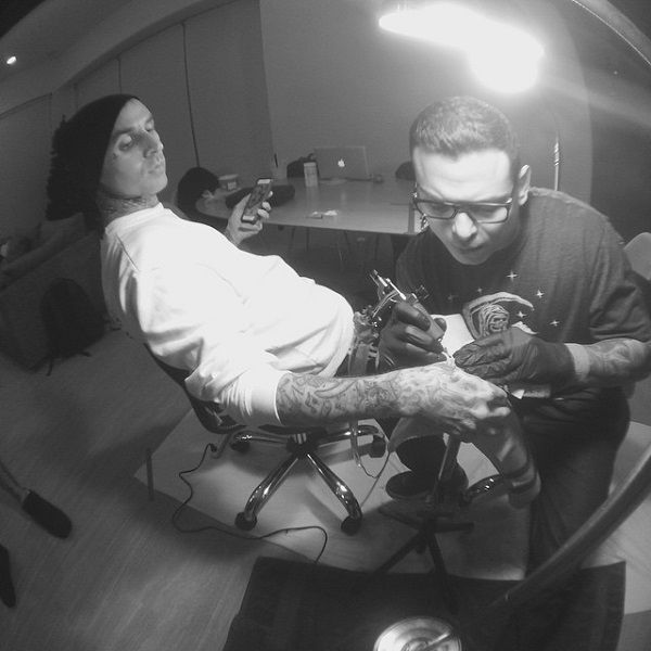 travis barker-chuey quintanar-live and learn tattoo
