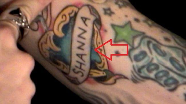 travis barker-shanna tattoo
