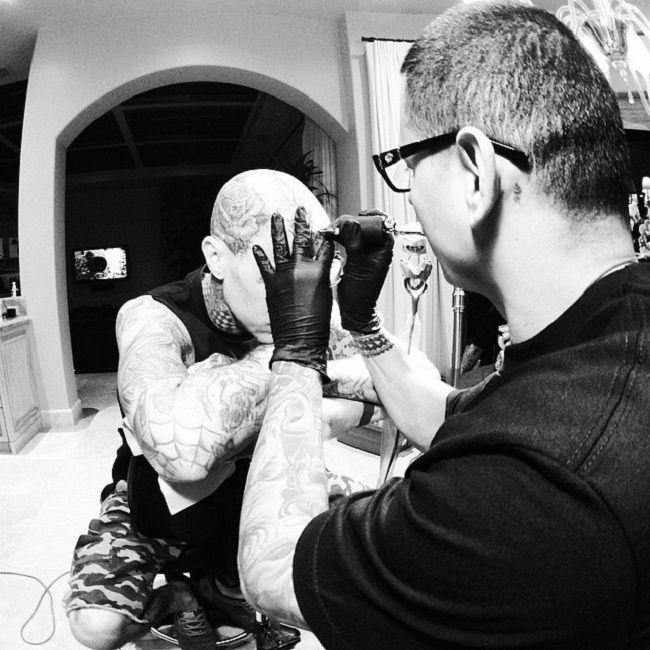 travis-family loyalty respect tattoo-chuey quintanar