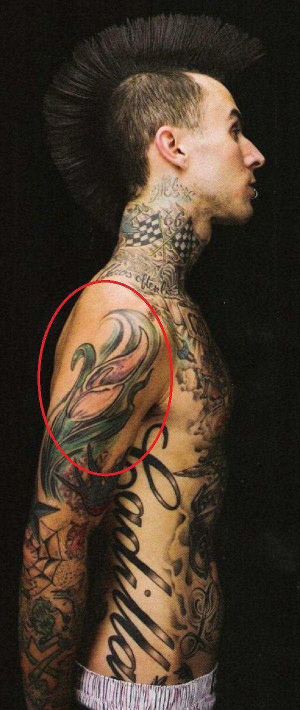 travis-tulip tattoo