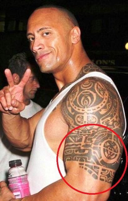 Dwayne The Rock Johnson S 3 Tattoos Their Meanings Body Art Guru