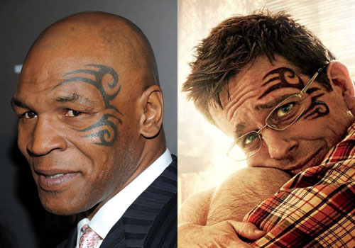 Tyson Face Tatoo: Mike Tyson's 6 Tattoos & Their Meanings