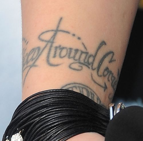 Pink - What Goes Around Comes Around Tattoo