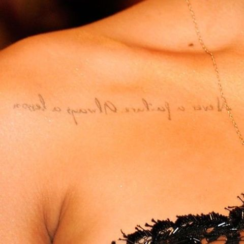 Rihanna tattoos Lessons to Learn