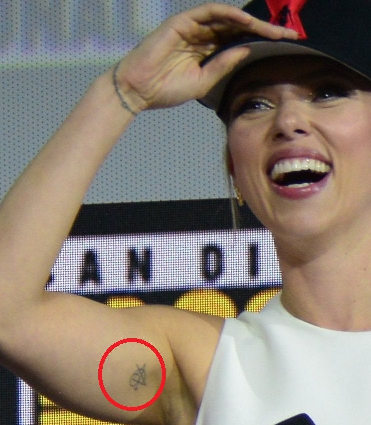 Scarlett Johansson's 8 Tattoos and Their Meanings – Body ...