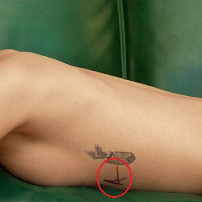 cara delevingne-a tattoo