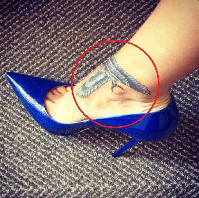 rihanna-falcon tattoo