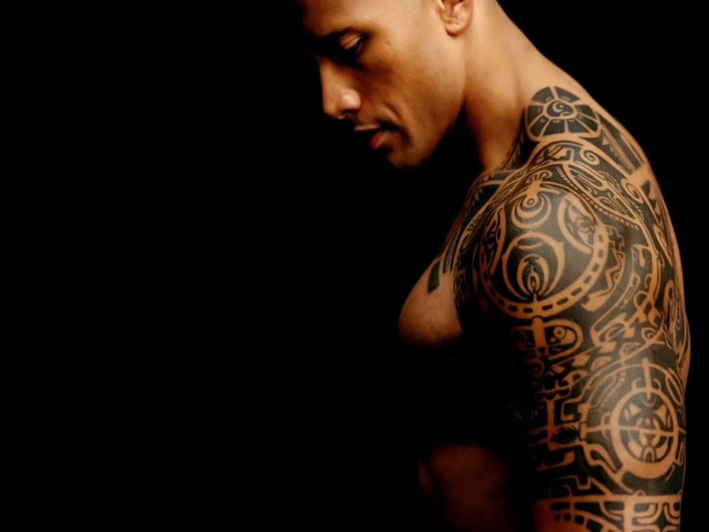 Dwayne The Rock Johnsons 3 Tattoos Their Meanings Body Art Guru