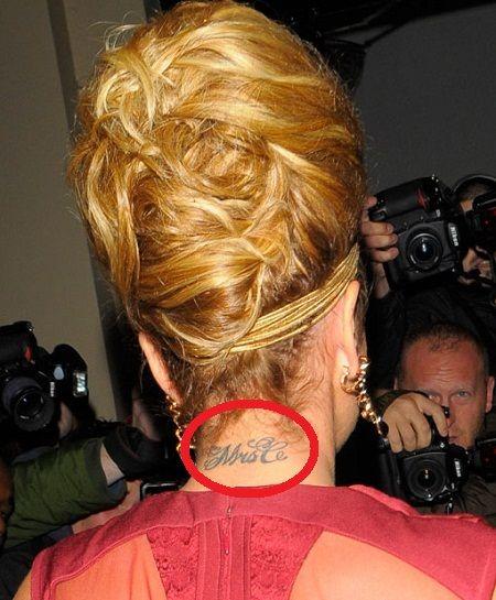 Cheryl Cole - Mrs C Tattoo