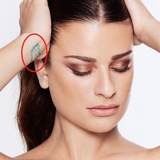 lea michele-believe tattoo