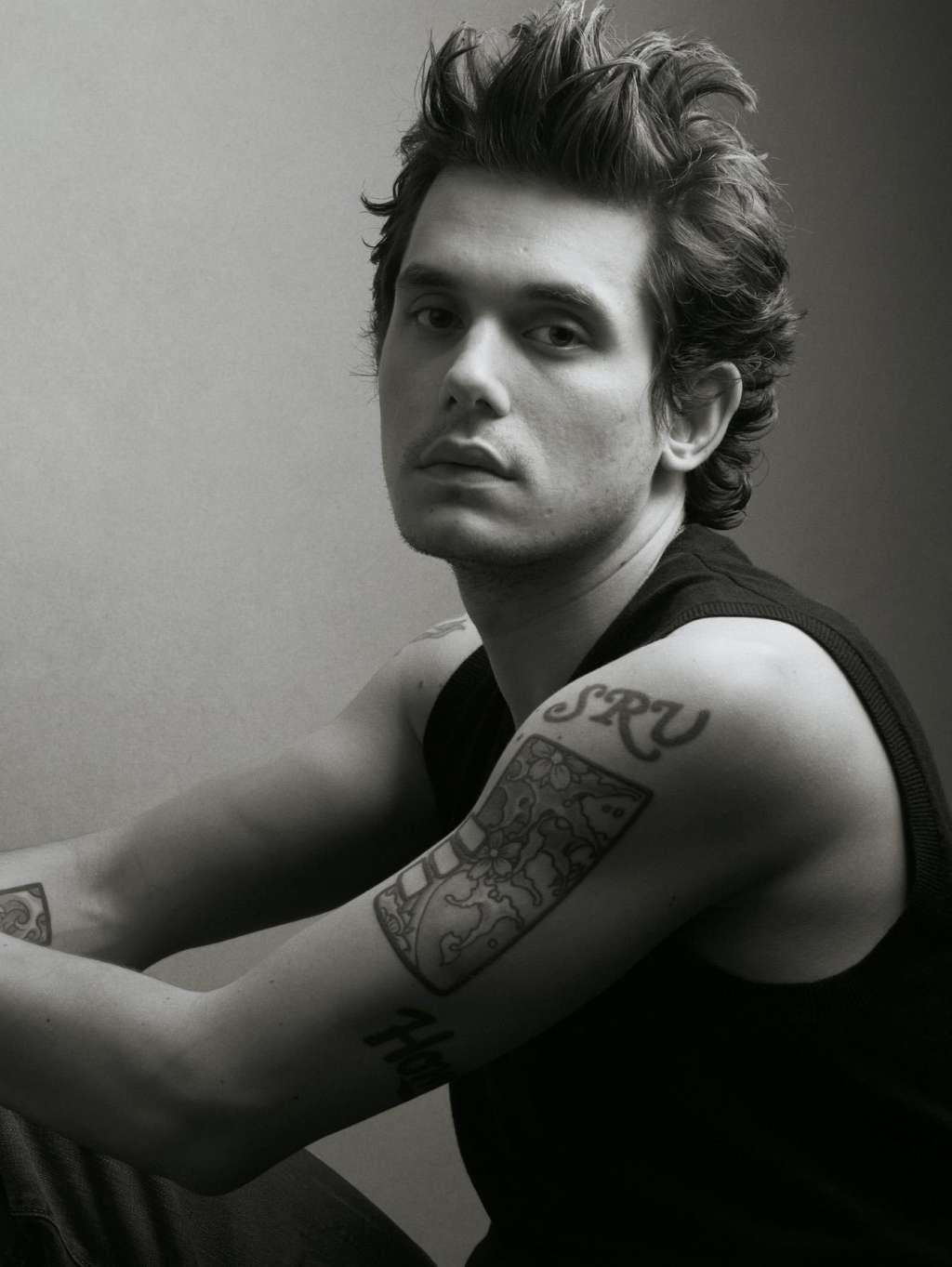 John Mayer SRV tattoo