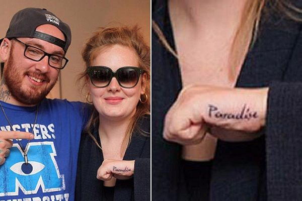 Adele-Tattoo