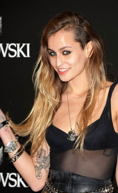 Alice Dellal tattoos