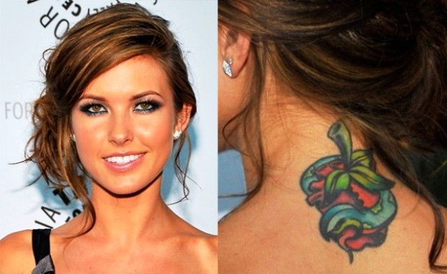 Audrina Patridge Arm Tattoo | www.pixshark.com - Images ...