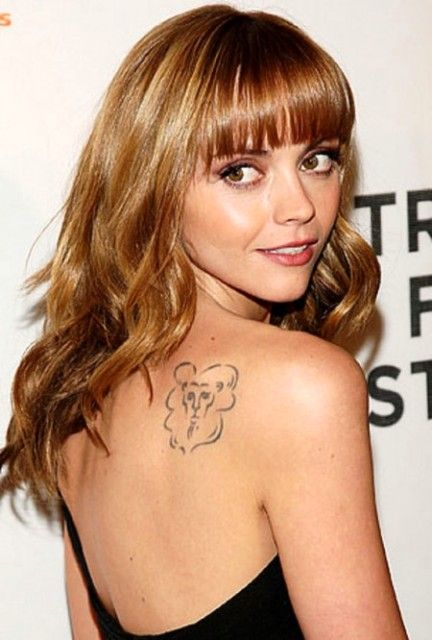 Christina Ricci tattoos
