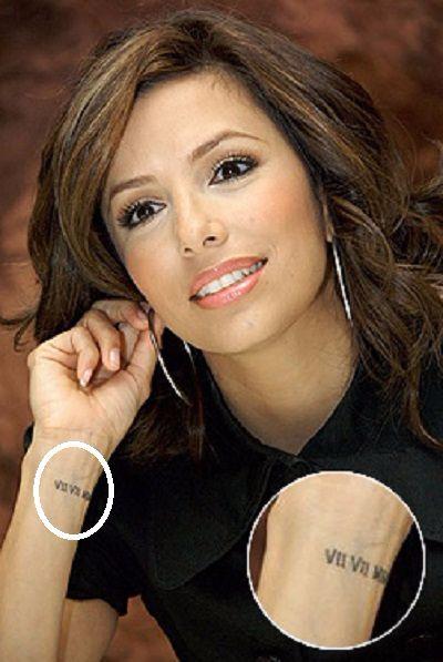 Eva-Longoria-Wrist-Tattoo