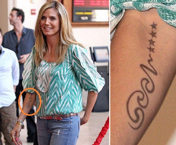 Heidi-Klum-Forearm-tattoo