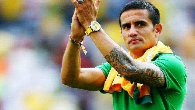 Tim Cahill tattoos