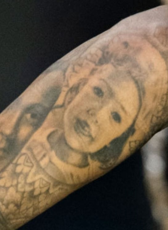 Tim mother portrait tattoo