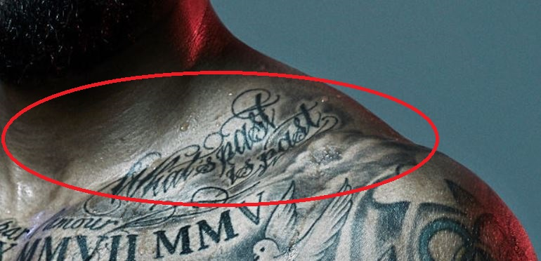 Tim what is past is past tattoo